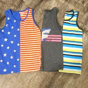 Cat & Jack boys 3 pack sleeveless shirts